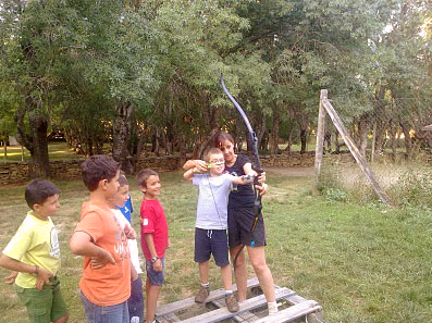 Camp in Sierra de Madrid (6 - 16 years old)